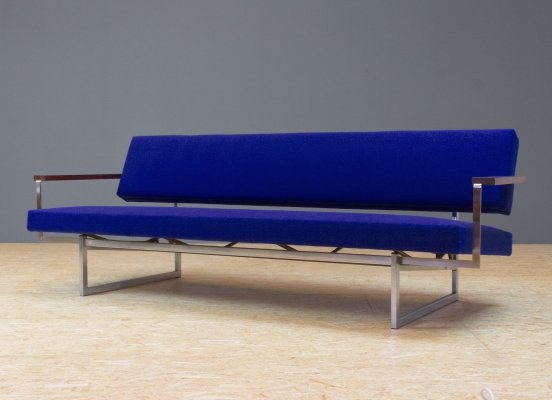 Lotus 25 sofa in Blue by Rob Parry for Gelderland, 1960s