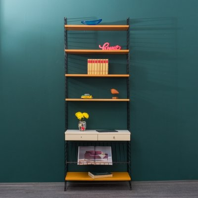 Mid-Century String shelving unit by Nisse Strinning