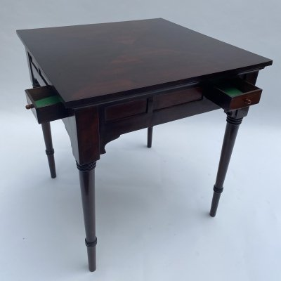 Secession card table by Thonet, 1920s