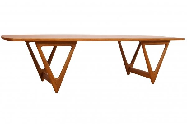 Surfboard Coffee Table by Kurt Ostervig for Jason Mobler