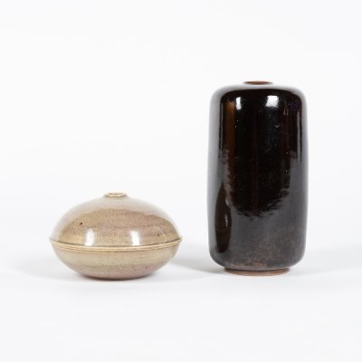 Two ceramics by the Swiss artist Marco Mumenthaler