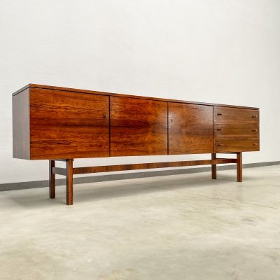 Very Unique Large Rosewood Sideboard by Musterring, 1960s