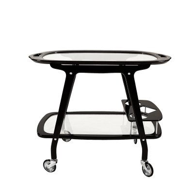 Bar cart by Cesare Lacca, Italy 1950