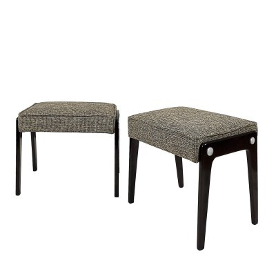 Pair of small banquettes, Italy 1950