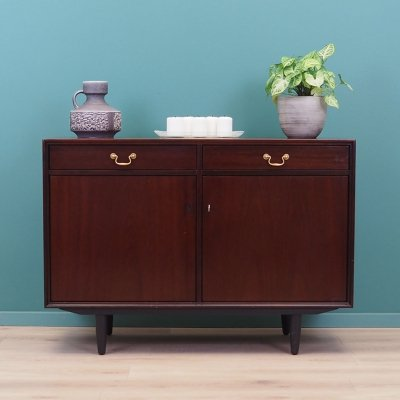 Mahogany cabinet with drawers, Denmark 60s