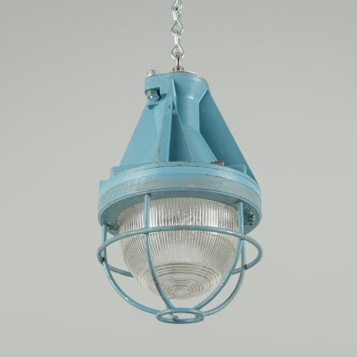 Industrial pendant lights by Victor, 1960s