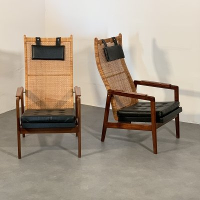 Pair of lounge chairs by J. A. Muntendam for Gebroeders Jonkers, 1960s