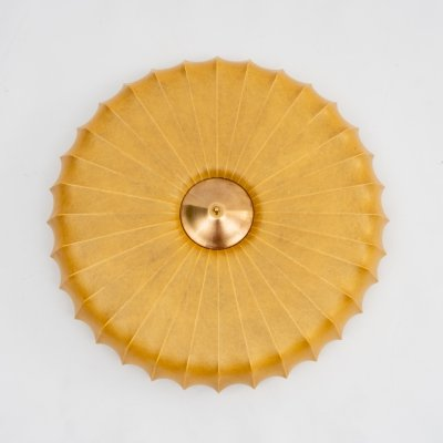 1950s cocoon wall / ceiling lamp
