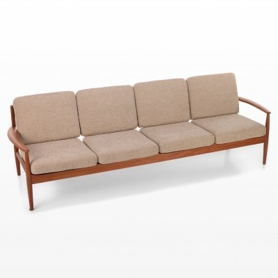 4 seater sofa by Grete Jalk, 1960s