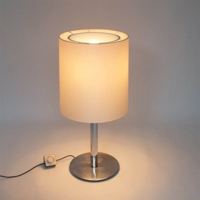 Big 60s table lamp with different ways to put on/off the 4 lamps