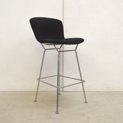Wire Bar stool by Harry Bertoia for Knoll, 1990s