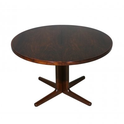 Rosewood dining table by Vejle Stole, 1960s