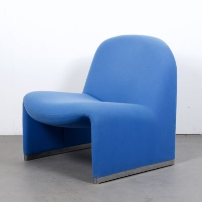 Blue Alky Chair by Giancarlo Piretti for Anonima Castelli, Italy c1970s