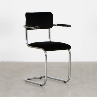 6 x Model 152 dining chair by Tubax, 1970s