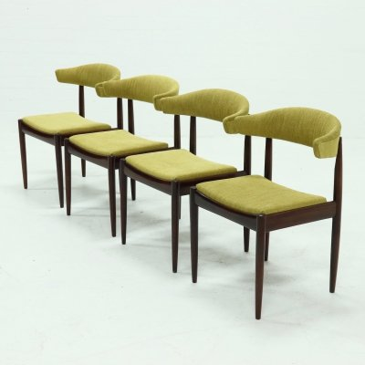 Set of 4 Danish Design Rosewood Dining Chairs, 1960s