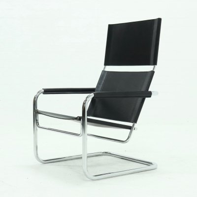 Rondo Highback Lounge Chair by Heinrich Pfalzberger for AG Wohnbedarf, 1970s
