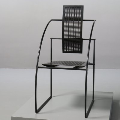 Quinta dining chair by Mario Botta for Alias, 1980s