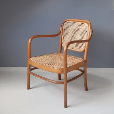 Lounge chair A61 F by Aldolf Gustav Schneck for Thonet, 1930s