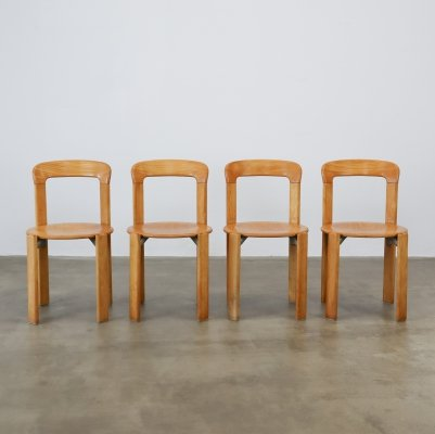 Set of 4 Bruno Rey for Kusch & Co chairs
