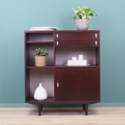 Mahogany cabinet with drawers by Ulferts Sweden, 1960s