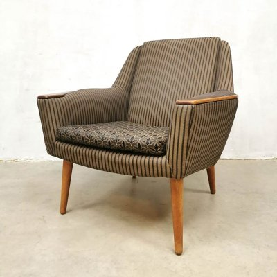 Vintage design easy chair by Madsen & Schubell for Bovenkamp, 1950s