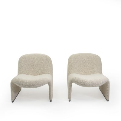 Alky Chairs by Giancarlo Piretti for Castelli, Italy 1970s