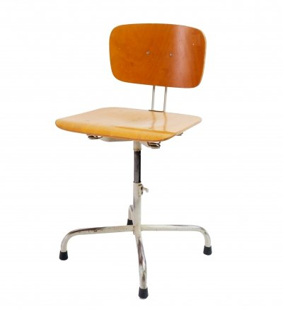 3x Industrial architect chair, 1960s