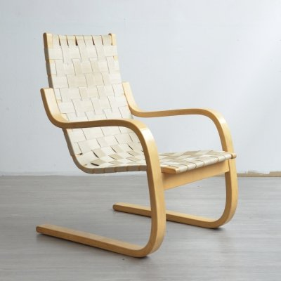 '406' Lounge Chair by Alvar Aalto, 1980s