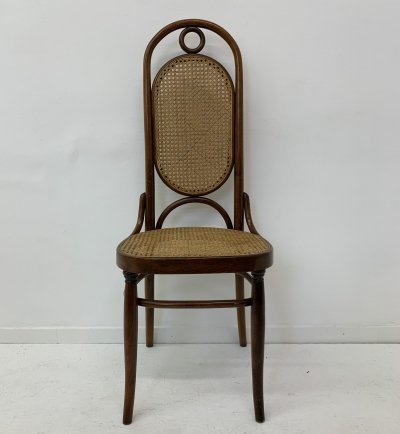 Thonet bentwood high back dining chair, 1960's