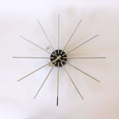 George Nelson 'Star' clock made by Howard Miller & Fehlbaum Brothers, Switzerland 1950s