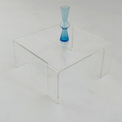 Lucite Side Table, 1970s