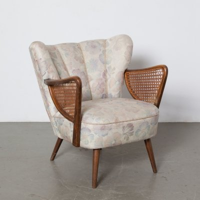 Cocktail Chair with Armrests, 1950s