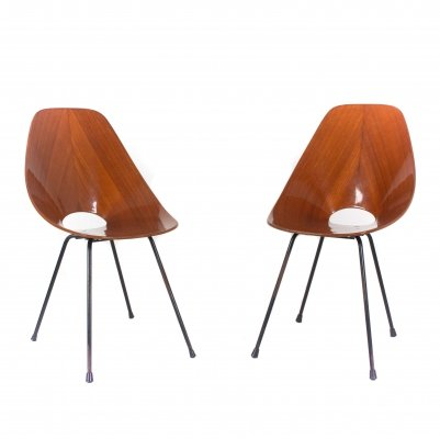 Set of Two Medea Chairs by Vittorio Nobili for Fratelli Tagliabue, Italy 1950s