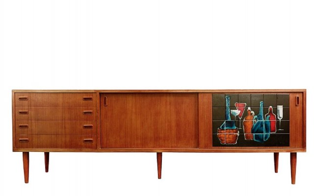 Vigneron Sideboard by Alfred Hendrickx, 1950s