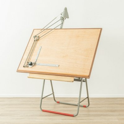 1950s architect's table by Nestler