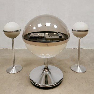 Space Age Vintage stereo system 'Vision 2000' by Thilo Oerke for Rosita