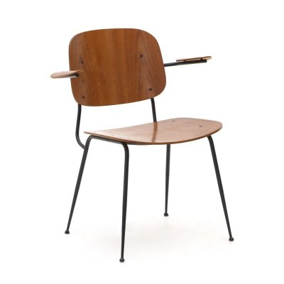'Soborg' chair with armrests by Børge Morgensen for Fredericia, 1950s