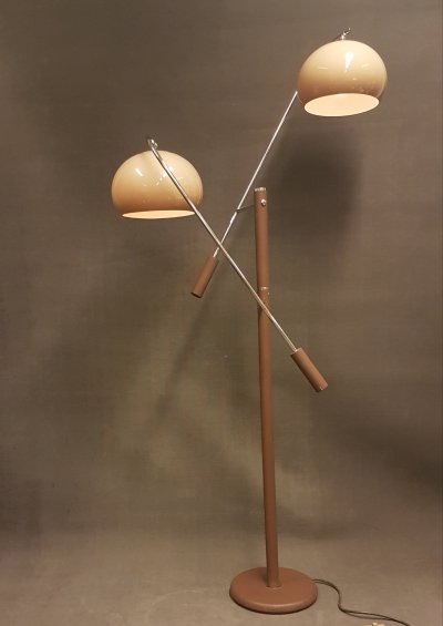 Space Age Counterbalance or Counterweight floor lamp by Dijkstra, 1970s