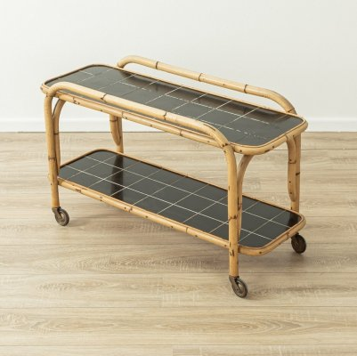 1950s serving trolley