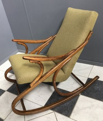 Rocking chair by Thonet, 1960s