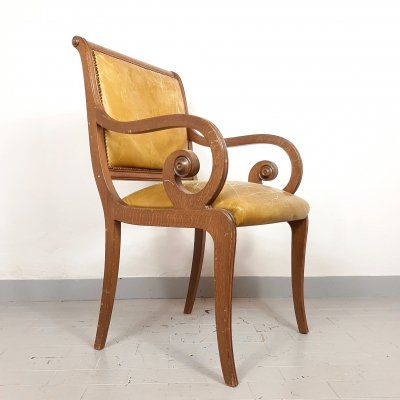 Vintage dining chair, Italy 1950s