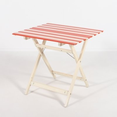 Foldable table by Fratelli Reguitti, 1970's Italy