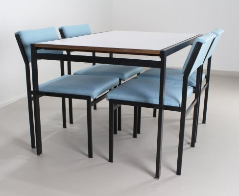 TU11 / SM07 dining set by Cees Braakman for Pastoe, 1960s