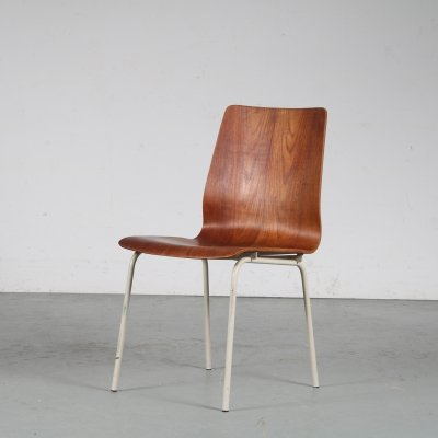 1950s Side chair by Friso Kramer for Auping, Netherlands