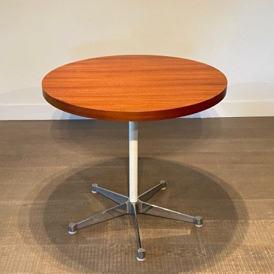 Early Round table by Ray & Charles Eames for Herman Miller, 1950s