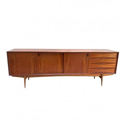 Rare Paola sideboard by Oswald Vermaercke for V-Form, 1959
