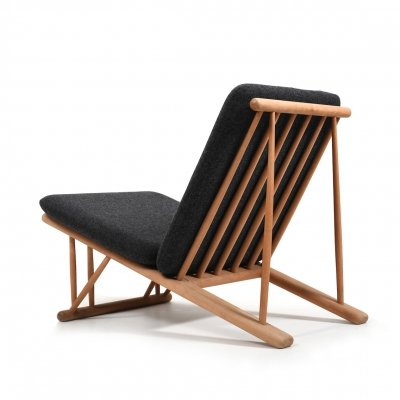 Rare Danish Easychair by Poul M.Volther for FDB Møbler, 1954