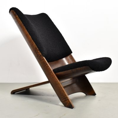 Important Theo Ruth 'Congo' prototype chair made in the 1950s for Artifort