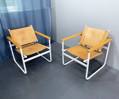 2 x Model S 75 Armchair / Lounge Chair by Waldemar Rothe for Thonet