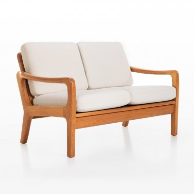 Two seater sofa by Juul Kristensen, 1960s